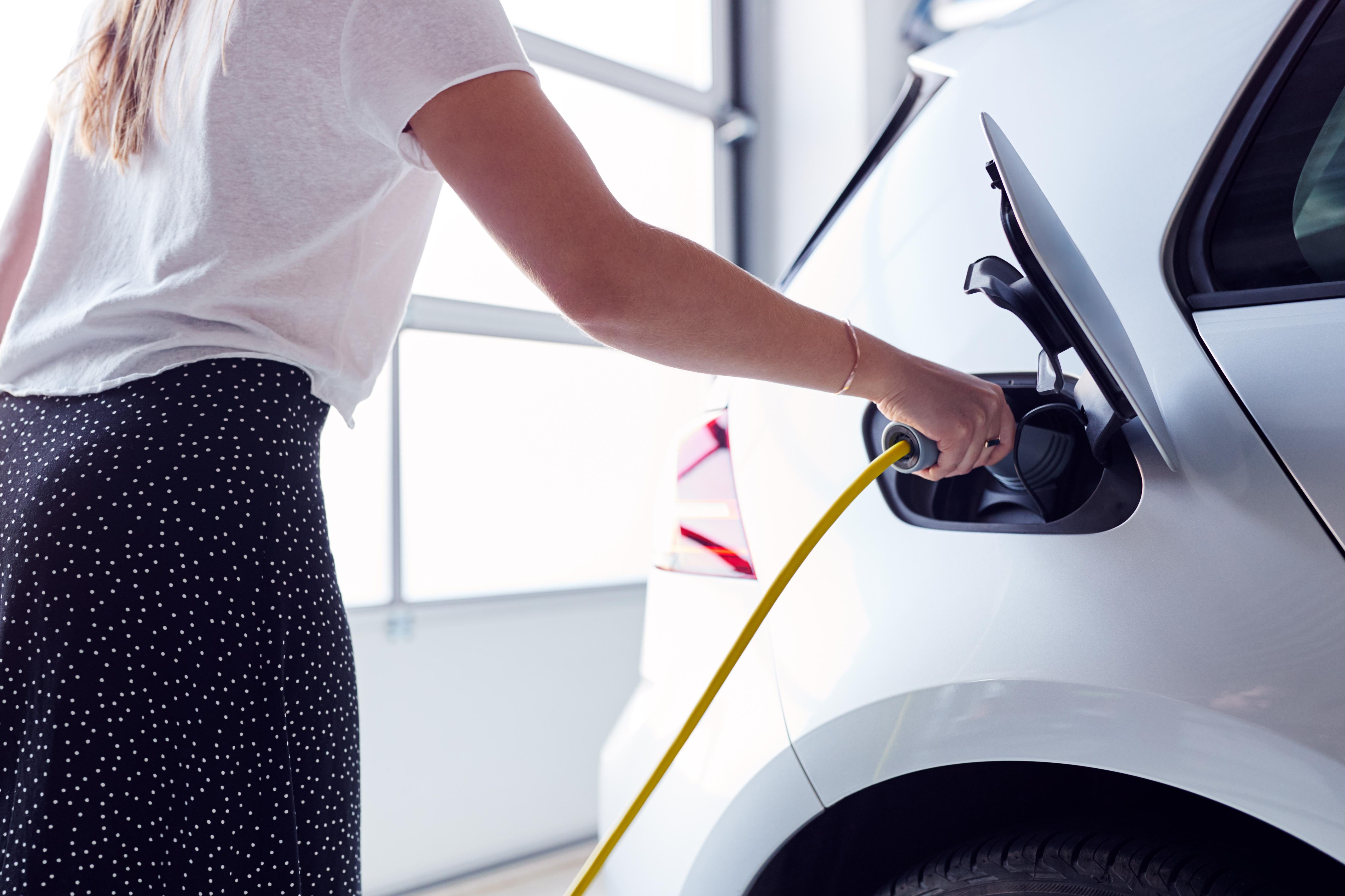 EV charging shutterstock 1499395172